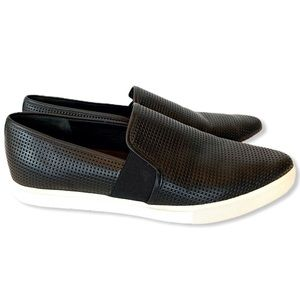Vince Slip-on Shoe Pierce Perforated Cut-out Point